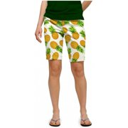 Loudmouth Golf Womens Pina Colada 6 Shorts