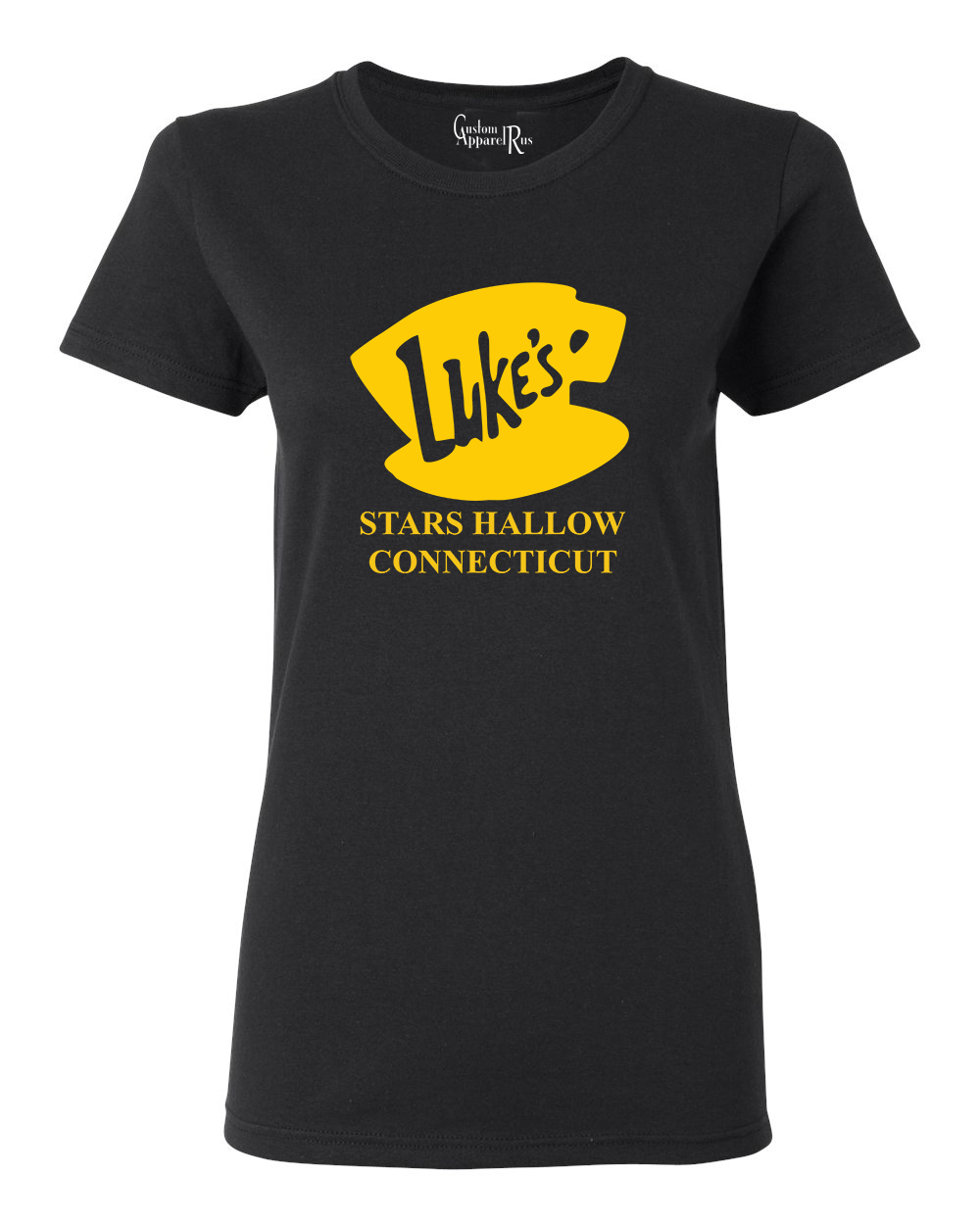 Luke's Diner Stars Hollow CT Gilmore Girls Womens T-Shirt Top