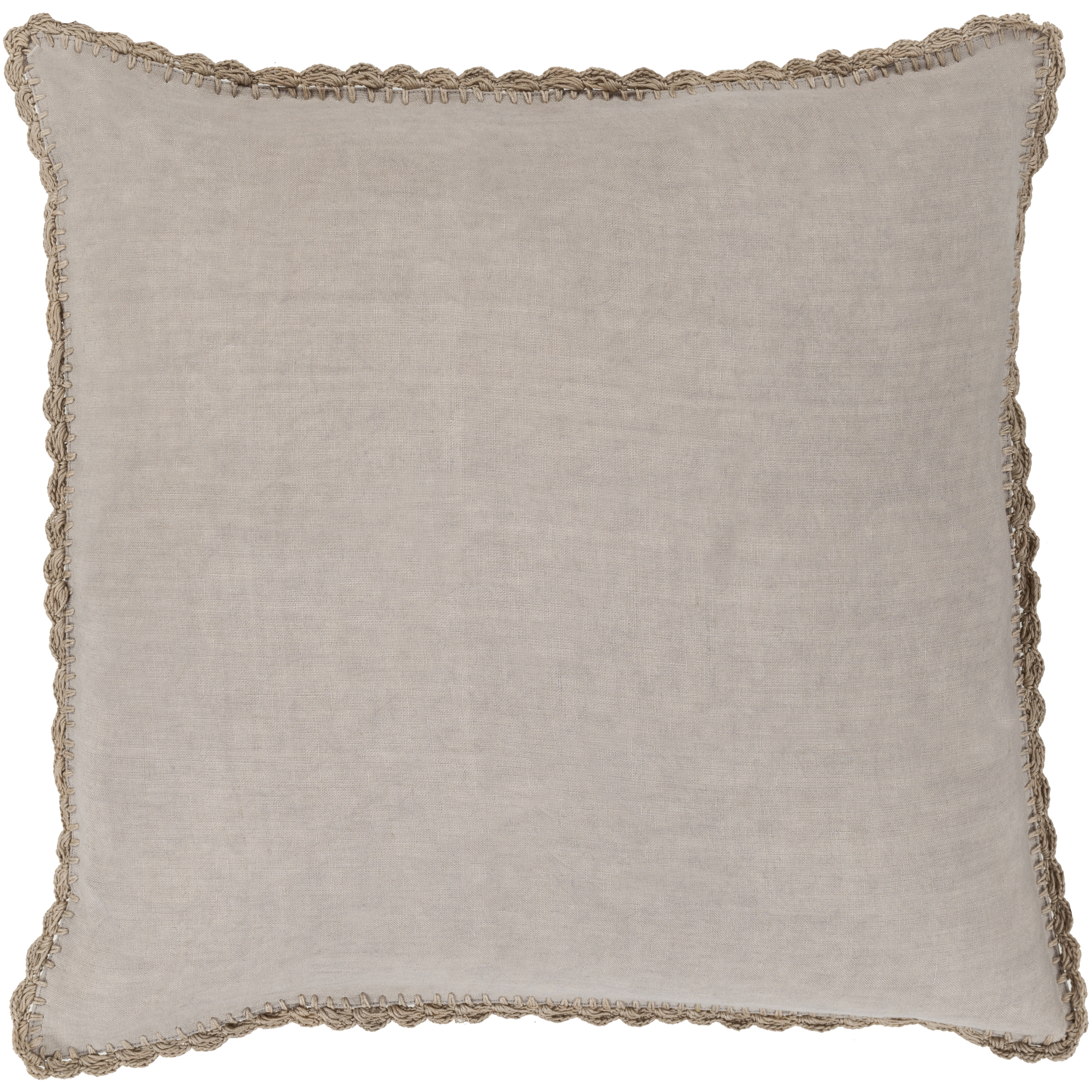 "Art of Knot Velletri 20"" x 20"" Pillow Cover"