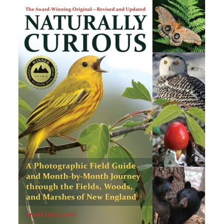 Naturally Curious - New Edition : A Photographic Field Guide and Month-By-Month Journey Through the Fields, Woods, and Marshes of New England (Southern Marsh Lab)