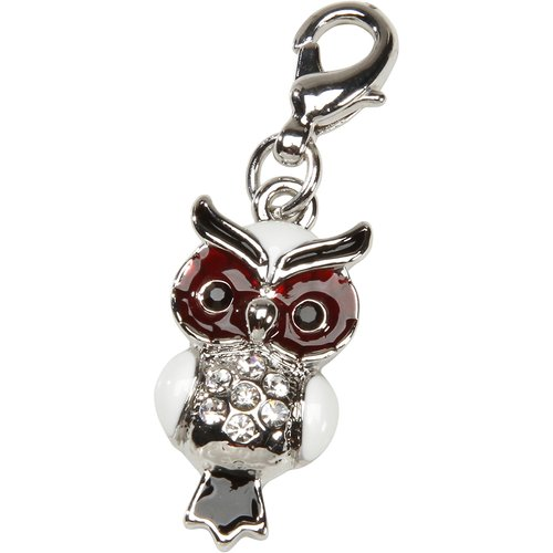 mix and mingle owl charm walmart