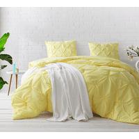 BYB Limelight Yellow Pin Tuck Comforter