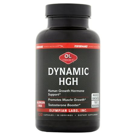 Olympian Labs Dinámica HGH cápsulas, 150 recuento