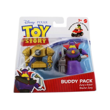 Zurg Toy Story (Toy Story Action Links Buddy Packs - Zurg Robot & Blaster)