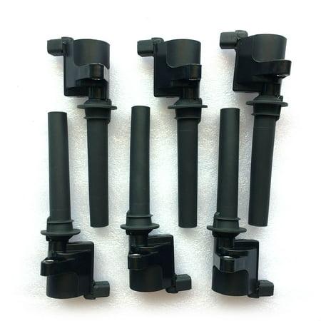 - Ktaxon Pack of 6 Ignition Coil for 2003 2004 2005 2006 2007 2008 Ford Escape 3.0L V6