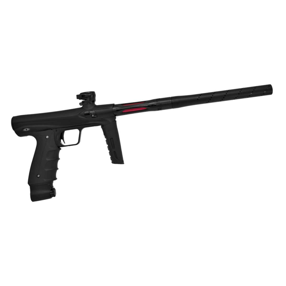 Click here to buy SP Shocker CVO Mechanical Paintball Marker Dust Black by Shocker Paintball.