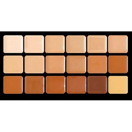 Warm HD Glamour Creme Super Palette Graftobian Long Lasting Lip 18-Color - image 1 de 1