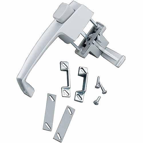 Wright Products V333 Aluminum Screen and Storm Door Pushbutton Latches