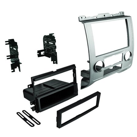 Car Radio Stereo Single Double DIN Dash Kit Trim for 2008-2012 Ford Mercury