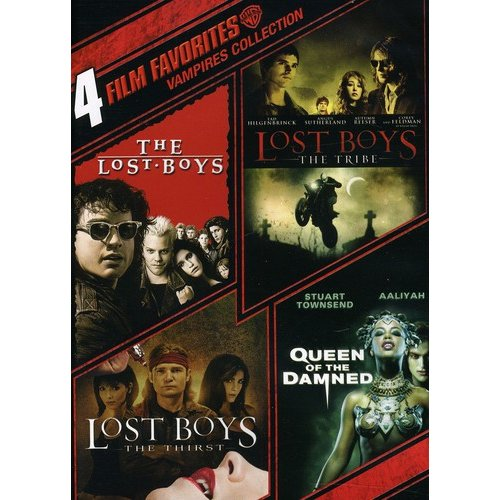 4 Film Favorites: Vampires - The Lost Boys / Lost Boys: The Tribe / Lost Boys: The Thirst / Queen Of The Damned