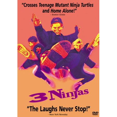 3 Ninjas (DVD) (Kai The Red Ninja)
