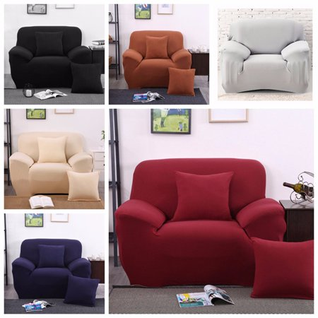 Elastic elastic Sofa Cover Stretch Fabric Sofa Furniture Slipcover Pet Dog  Sectional Corner Couch Covers Fit One Seat Sofa,Muilticolor
