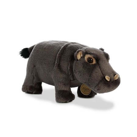 Hippopotamus 10 inch (Miyoni) - Stuffed Animal by Aurora Plush