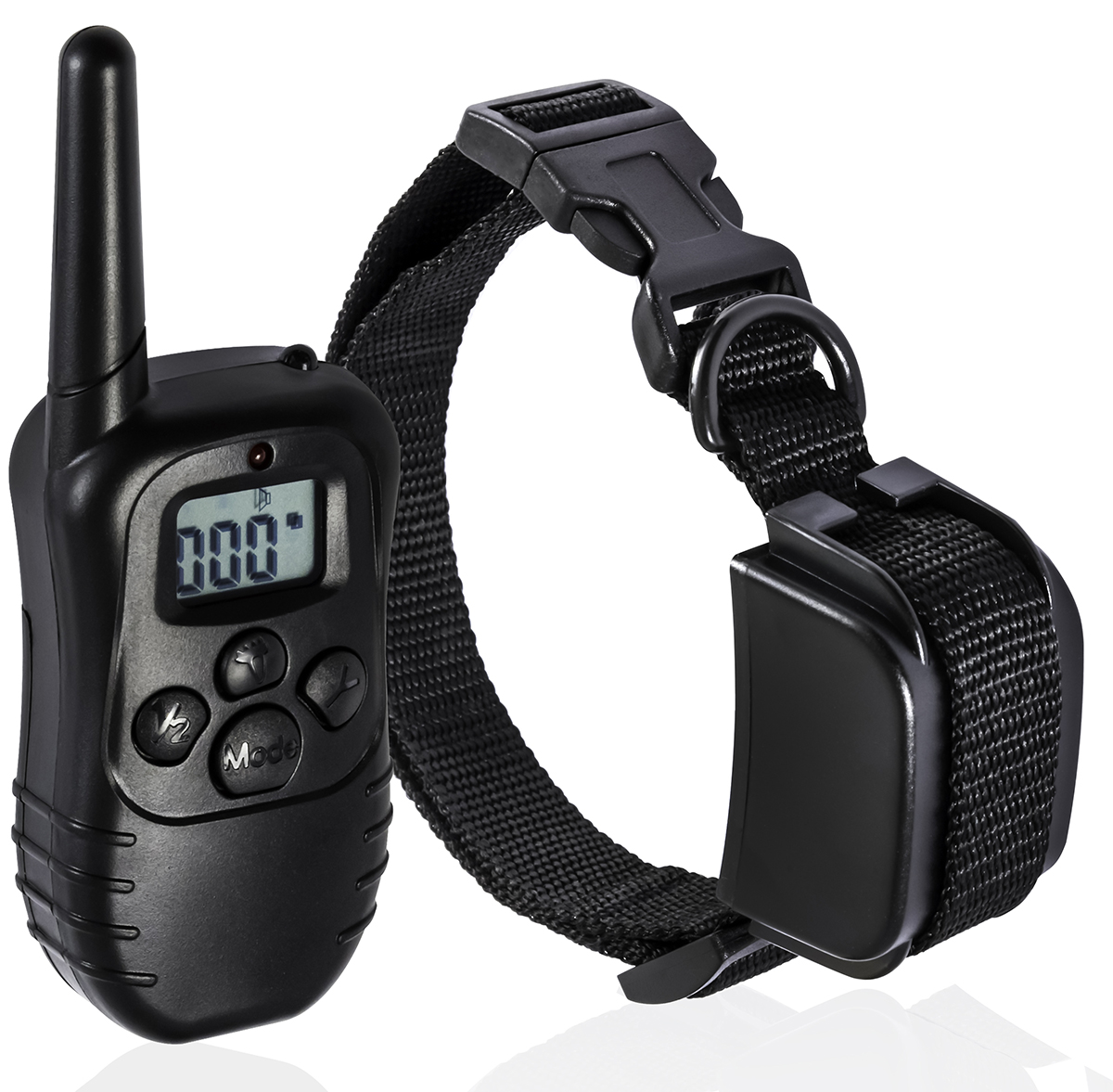 Remote Dog Training Collar 330 Yard Radius LCD 100LV Shock Pet Bark