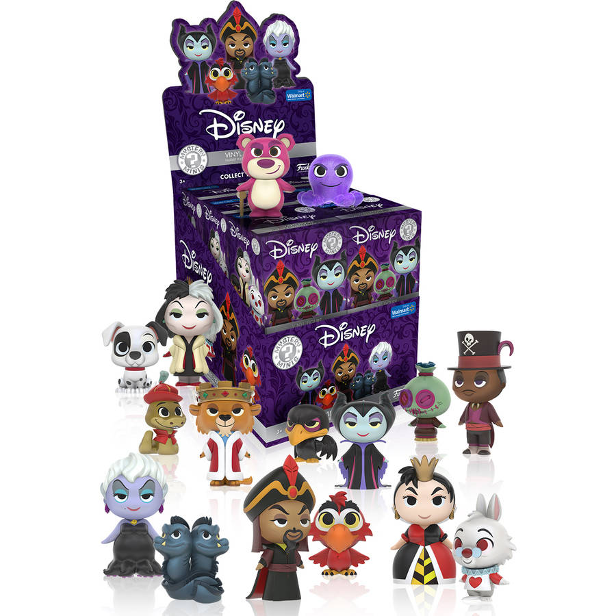 Funko Disney Villains One Mystery Mini Figures