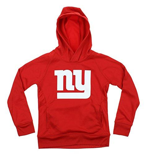 NFL Youth New York Giants Primary Logo Performance Pullover Hoodie