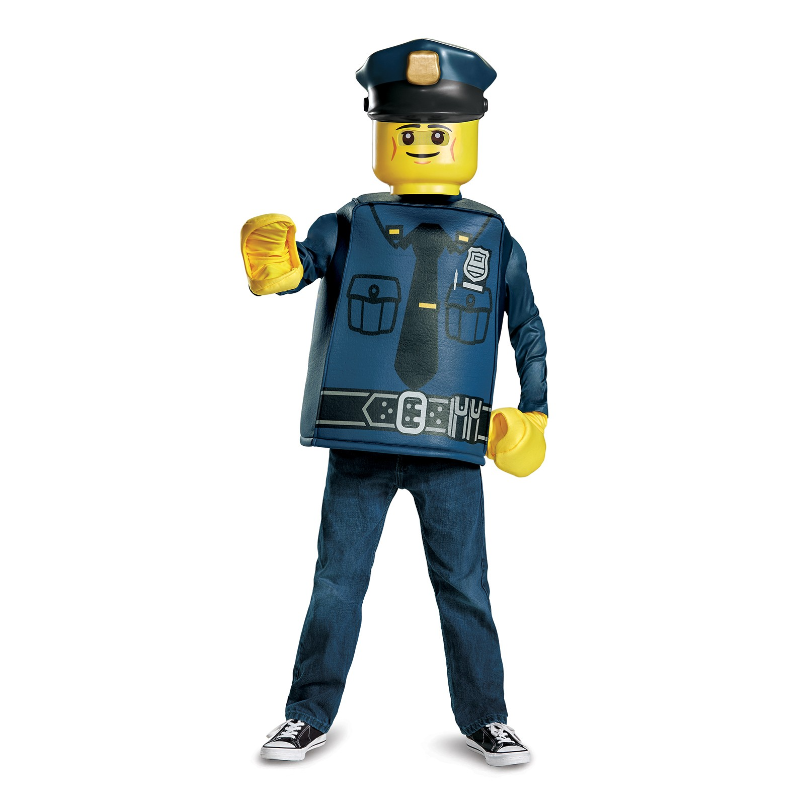 Lego Iconic Police Officer Classic Child Costume by DISG