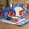 The Pioneer Woman Heritage Floral 12-Piece Dinnerware Set