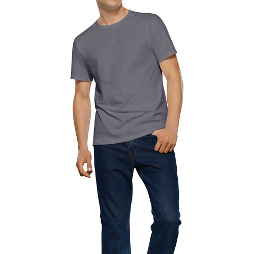 Fruit of the Loom Tall Men's Collection Dyed Crews, 2 Pack