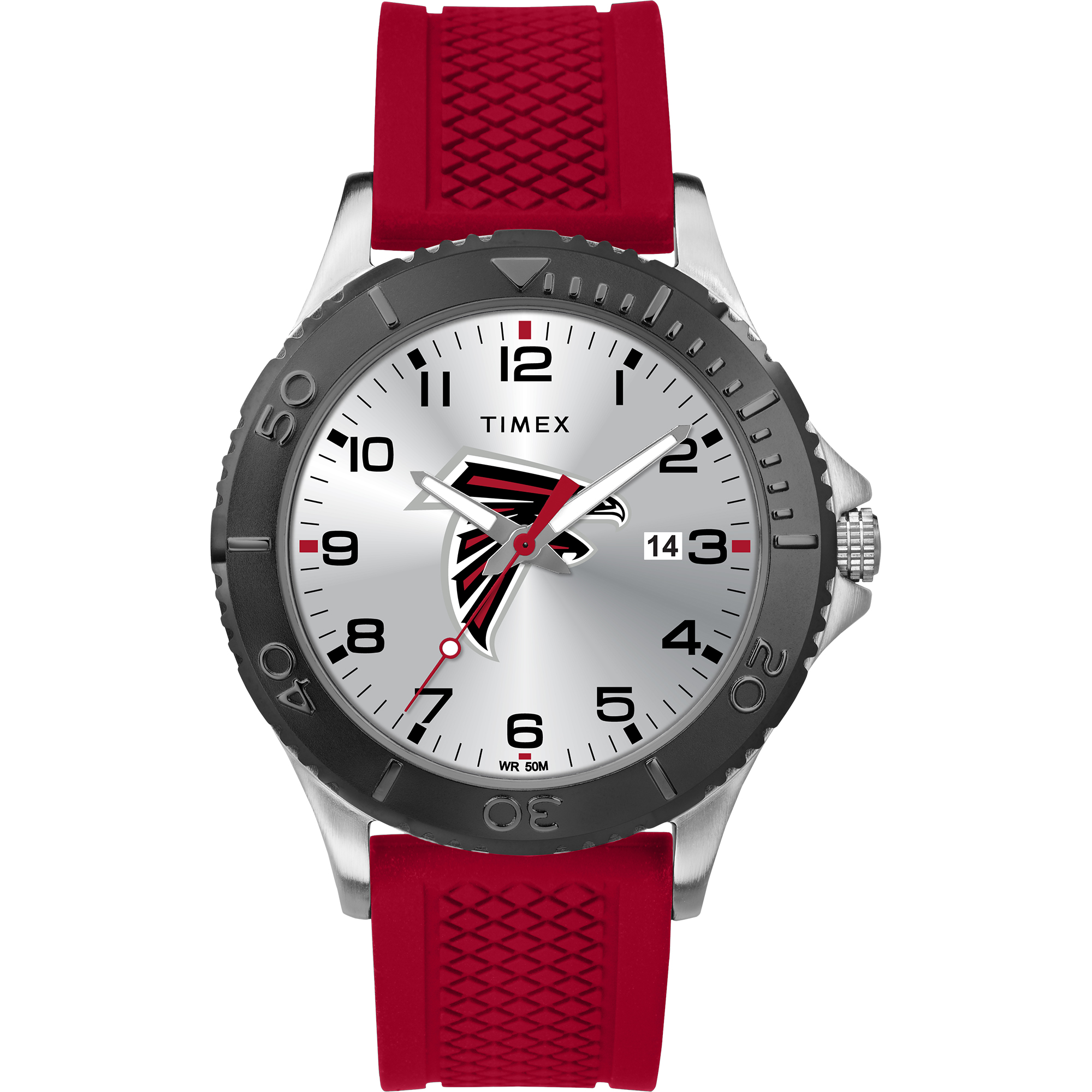 Timex - NFL Tribute Collection Gamer Red Men's Watch, Atlanta Falcons