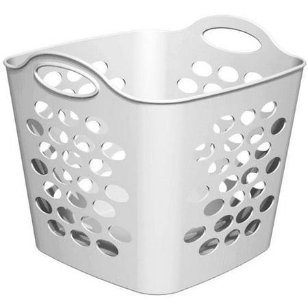 Mainstays Flex Square Basket White Walmart Com
