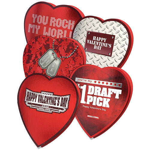 Russell Stover Just For Him: For My Man On V Day W/Clear Cellophane Assorted Chocolates, 7 Oz