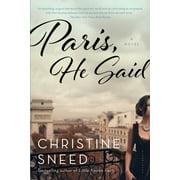 Paris, He Said - eBook