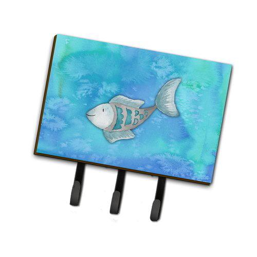 Caroline's Treasures Fish Watercolor Leash or Key Holder