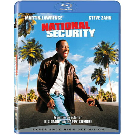 National Security (Blu-ray) (Adjustable Security Dvd)