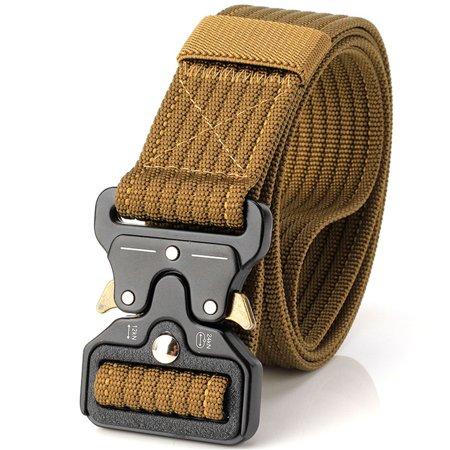 Multi-function Outdoor Gear Heavy Duty Belt Nylon Metal Buckle Swat Molle Padded Patrol Waist Belt