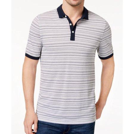 f47dfd97 Michael Kors Casual Shirts - Michael Kors Mens Large Striped Pique Polo  Shirt - Walmart.com