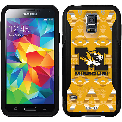 University of Missouri Tribal Design on OtterBox Commuter Series Case for Samsung Galaxy S5