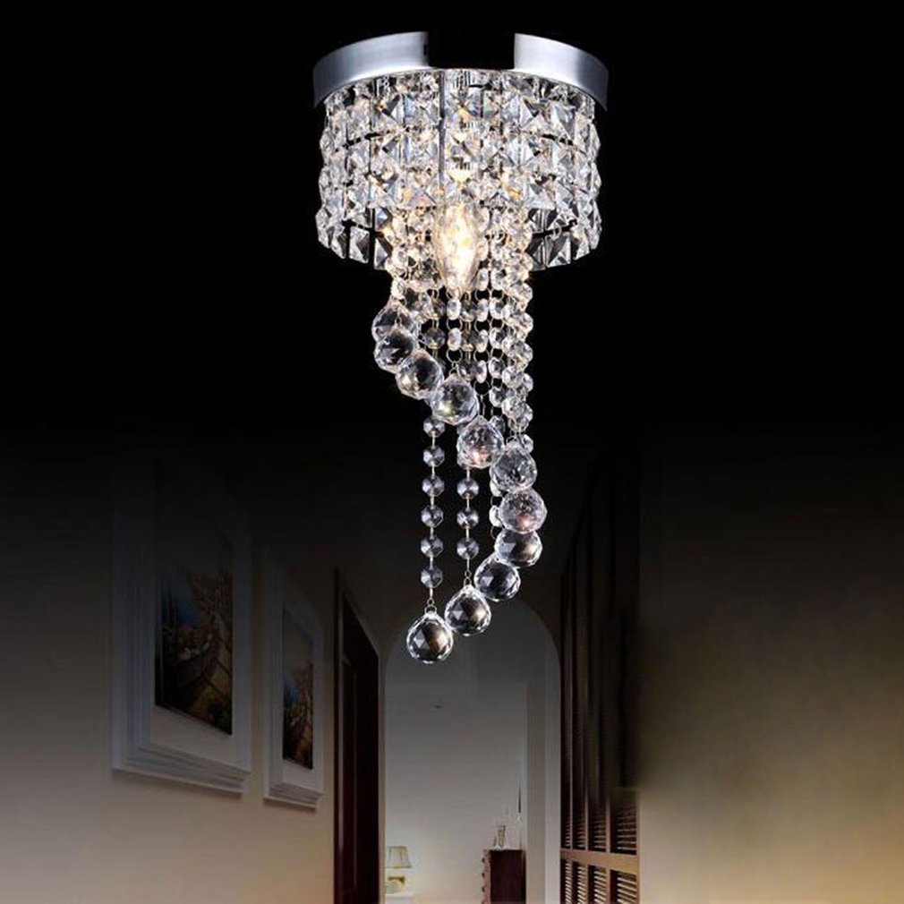 Crystal Chandelier Modern Ceiling Light Pendant Lamp For Living Room,Dining Room,Home Decorative Lamp by Sunrain