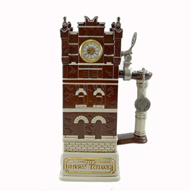 Anheuser-Busch BREW HOUSE CLOCK TOWER Stein Collectors Cl...
