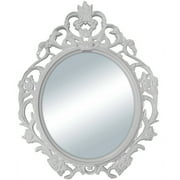Better Homes and Gardens Baroque Oval Wall Mirror