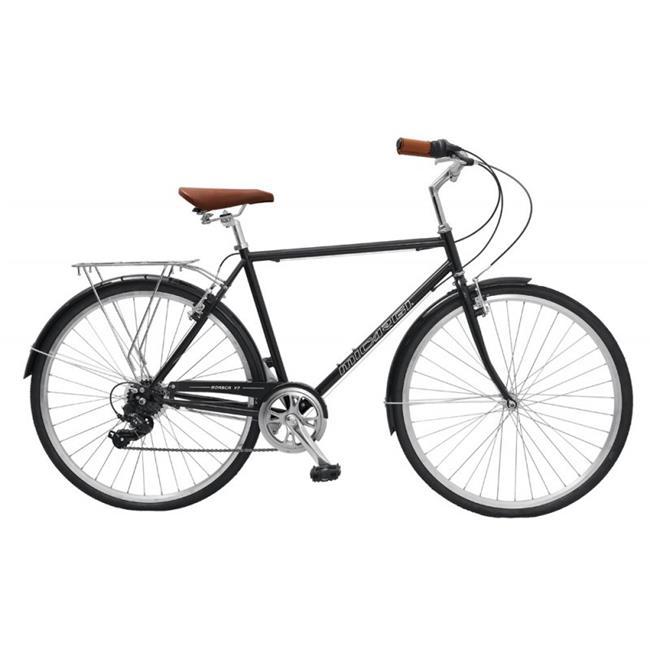 Micargi ROASCA V7-58-BK City Bike for Men, Black