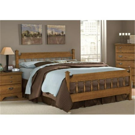 Carolina Furniture Works 387353 Footboard Spindle 4 6 5 0 Autumn Oak