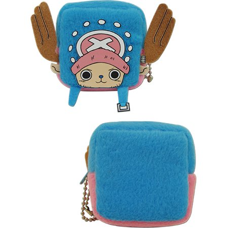 Coin Purse - One Piece - Chopper Cubed Plush New ge20542 - image 1 de 1