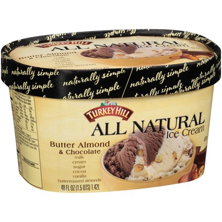 Turkey Hill® All Natural Butter Almond & Chocolate Ice ...