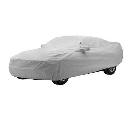 Covercraft Custom Fit Car Cover for Chevrolet and Pontiac (Technalon Evolution Fabric, Gray)