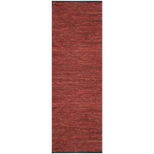 Wrought Studio Sandford Hand-Loomed Maroon Area Rug