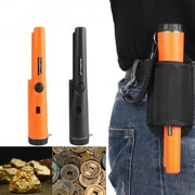 Erommy Metal Detector Automatic Pinpointing Water Resistant Pin Pointer Probe Handheld (ORANGE)