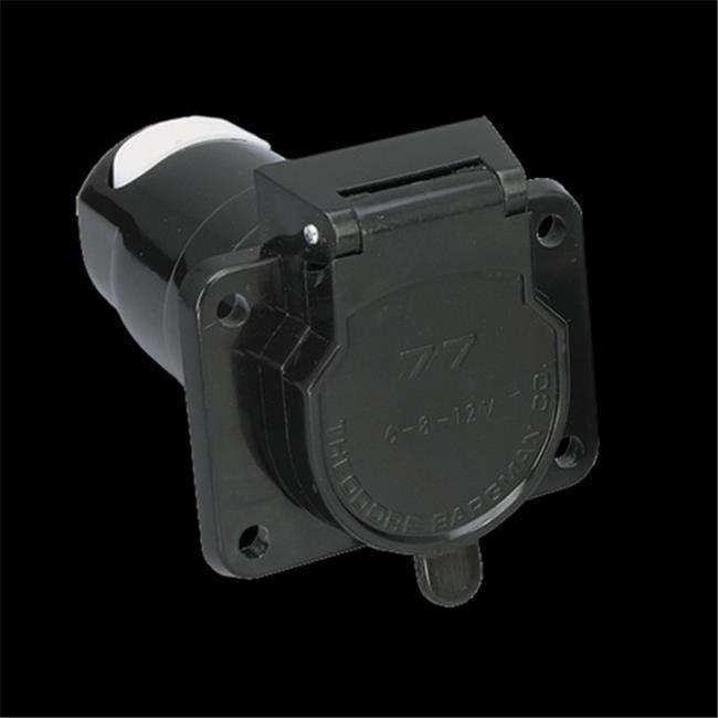 BARGMAN 5077001 7 - Way Connector Socket