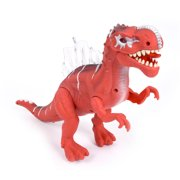 Wonderplay Jurassic World Dinosaur Toys LED Light Up Walking and Roaring Realistic t rex Dinosaur Toys for 3-12 Years Old Boys and Girls (Dino)