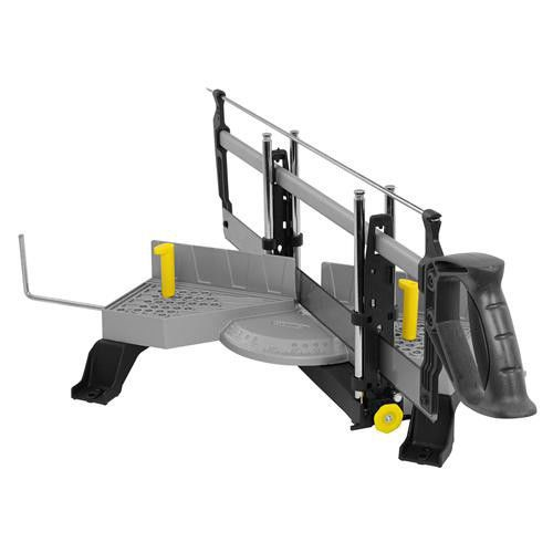 Stanley 20-800 22 in. Miter Saw with Adjustable Angle Clamping Miter Box