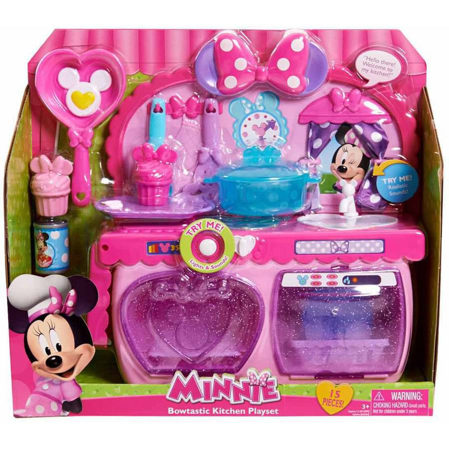 Minnie's Mini Kitchen Playset