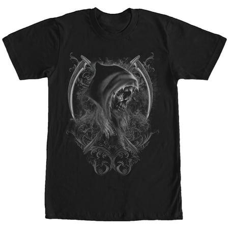 Men's Halloween Grim Reaper Scythe T-Shirt - Reaper Clothes