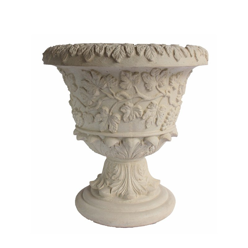 Anderson Teak French Urn Planter by Anderson