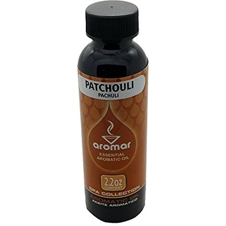 Aromatic Patchouli Oil (Aromar Patchouli Aromatic burning Oil (2 Oz Bottle))