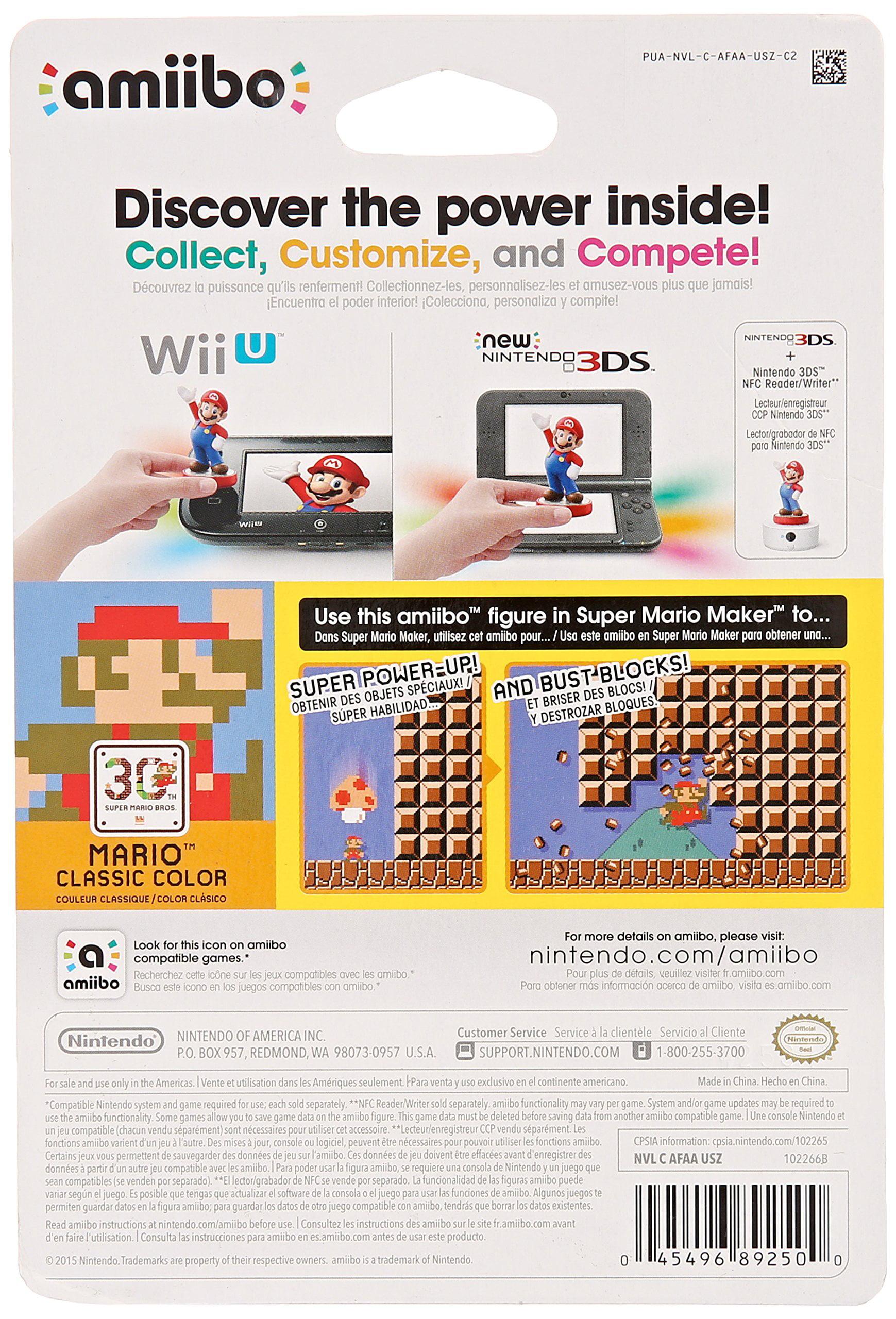 Mario Classic Color 30th Anniversary Series Nintendo